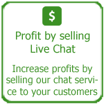 Profit by selling live chat, Thakur International