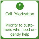 Call priorization, Thakur International